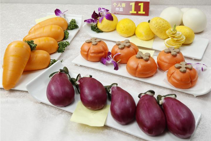 蔬果动物竟是馒头包子,创意面点也能巧夺天工 | 第六届中华发酵面食大赛总决赛优秀作品大搜罗